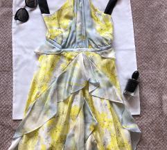 H&M PREMIUM NOVA svilena haljina na bretele S - M