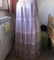 ITALY nova roze suknja til/karneri❣️