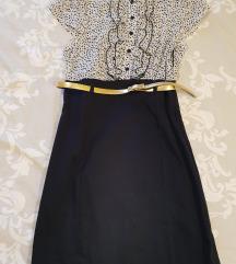 Teget haljina kao nova (popust 1000,00)