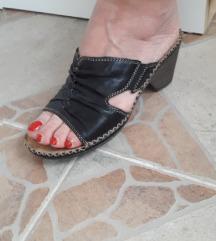 Dr. JÜRGENS antistress kozne crne papuce 37/ 24cm