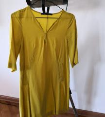 Žuta Zara haljina