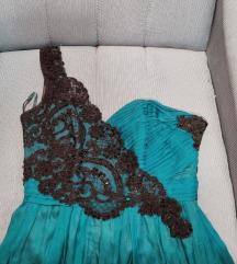 Made in italy korset  haljina 36