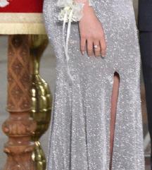 Dizajnerska duga svecana haljina