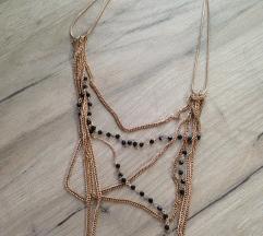 Glazed ogrlica