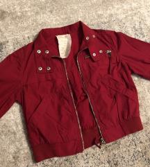Crop crvena jaknica