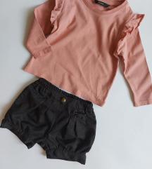 Puder roze duks