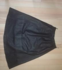ECHTES LEDER savrsena kozna suknja S