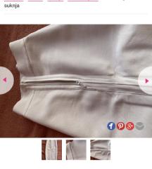 1500 bela herve suknja