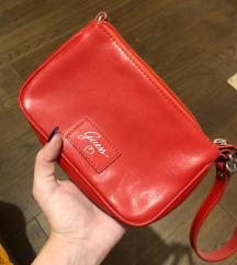 Crvena mini guess torbica