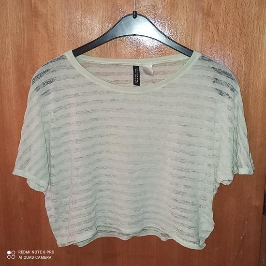 Crop Top majica DIVIDED