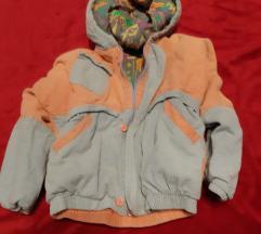Decija jakna od somota
