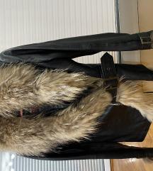 Kozna jakna sa krznom