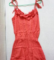 *SALE* Koralna letnja haljinica, vel.S