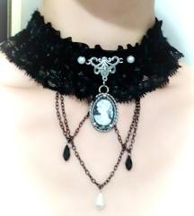 Gothic ogrlica sa kamejom