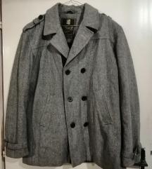 Sivi muski kaput