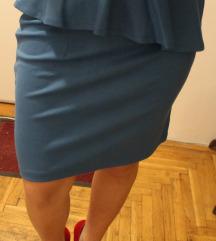 Plava suknja