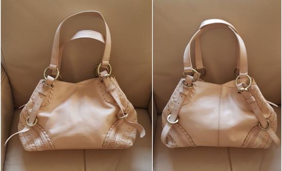 %6.500-Tosca Blu nude kožna torba, original