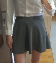 Terranova sivkasta suknjica S