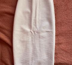 Herve leger bela suknja