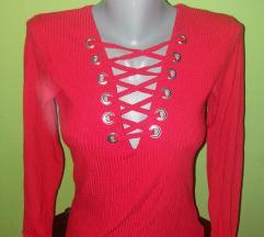 Crvena bodi majica