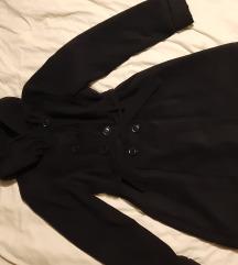 Crni kaput vel. XXL - kao nov