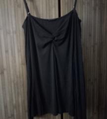 Sisley majica dug rukav gola ramena S/M