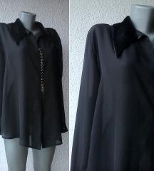 crna svečana košulja br 44 ili 46 IMAGE