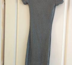 Siva pamucna haljina