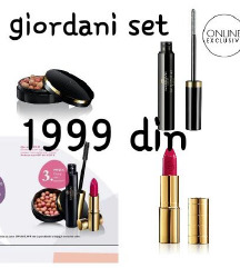 Giordani gold beauty box