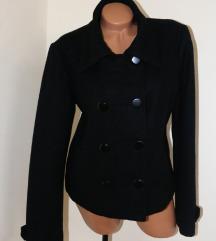 *Saix young Fashion* crni kraći kaput