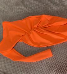 NOVA narandzasta haljinica REZ