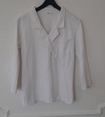 Bela pamučna H&M košulja, M vel.