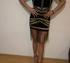 Kratka haljina sa resama