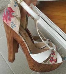 Perla sandale sa visokom stiklom
