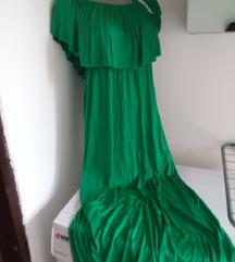 Nova duga zelena haljina S/M
