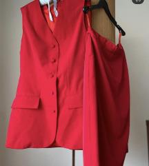 Komplet suknja sako krojen