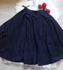 Nova teget suknja pun krug xs/s