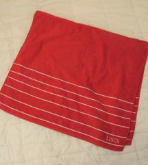 170. Lisca veliki crveni peškir za plažu