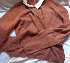 Esmara džemper sa kosuljom