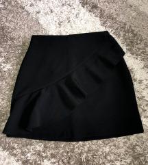 Suknja crna 34