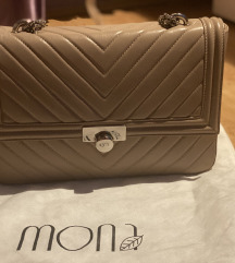 Mona krem torba