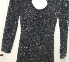 Bershka haljina sa sljokicama  Nova S