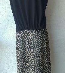 haljina crna a suknja crno drap br 42 ili 44