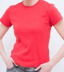 H&M koralno crvena majica