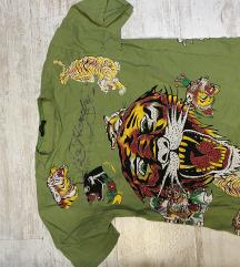 Ed Hardy zelena majica L velicina