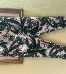 SNIZENO 1000 H&M floral print pantalone