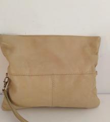 ITALY torbica prirodna fina 100%koža 29x24