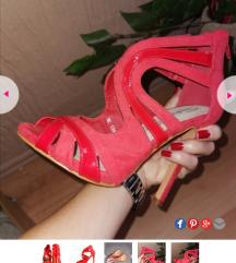 Prelepe crvene sandale