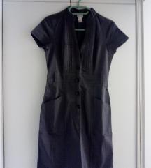 H@M siva haljina