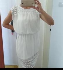 SNIŽENJE! Haljina bela